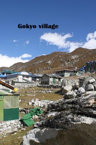 Gokyo_village