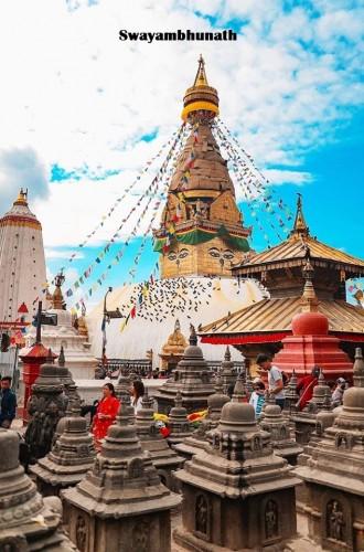 Swyambhunathy Stupa
