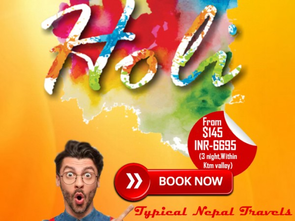 Happy Holi - Special Tour Package | Typical Nepal Travels