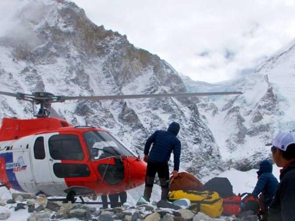 Nepal by Helicopter (Kathmandu-Chitwan-Jomsom).
