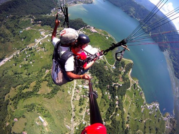 Paragliding | Adventure in Nepal | Inbound Tour | Our services.